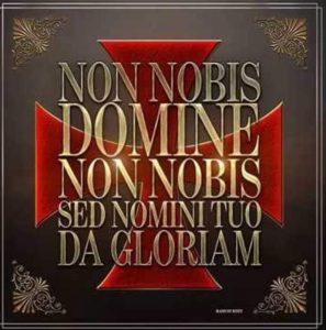 Non Nobis Domine Non Nobis