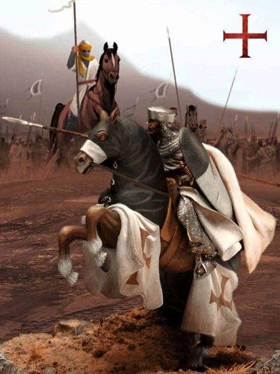Ser guerrero templario