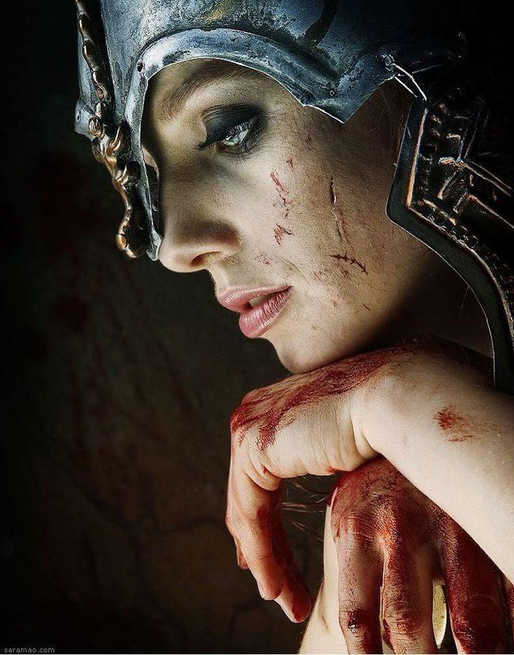 una guerrera