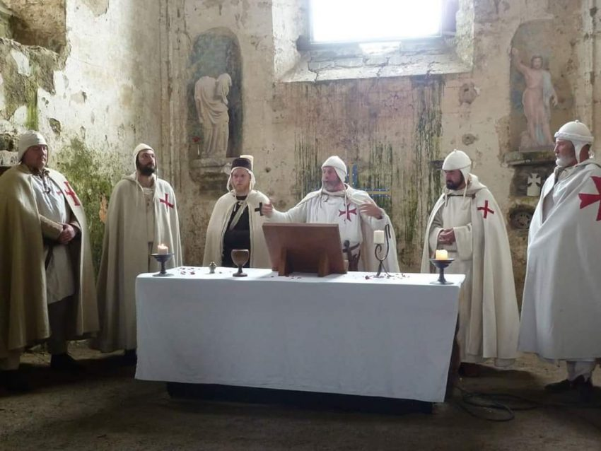 9 Caballeros Templarios