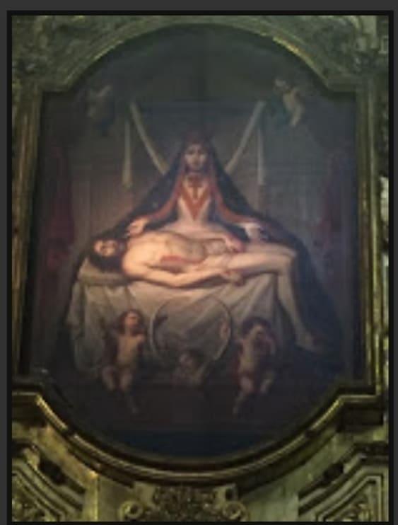 Jesús y María Magdalena