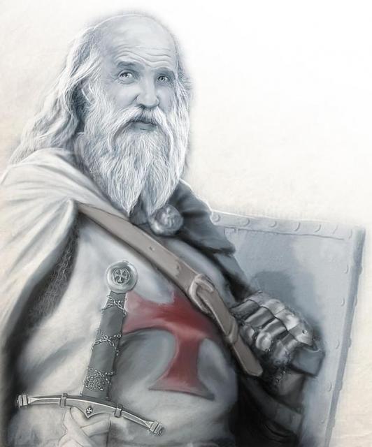 EL 23° Gran Maestre Jacques Bernard De Molay