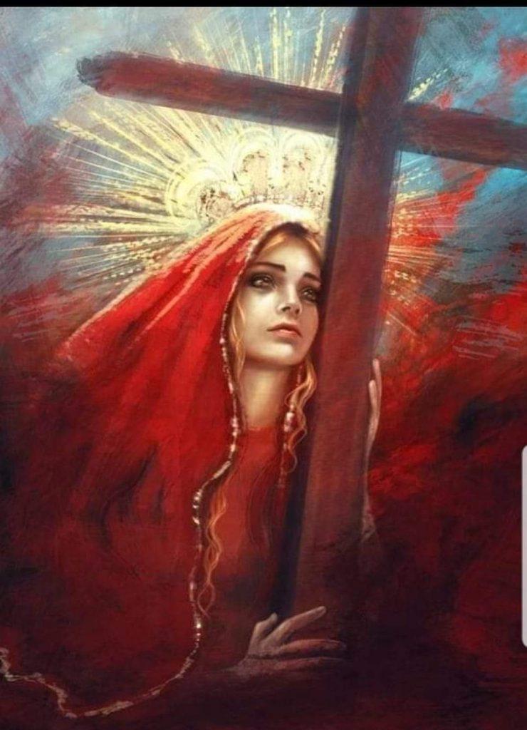Maria Magdalena la autentica puente con el cielo