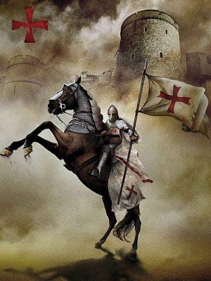 El Templario y su forma de Luchar